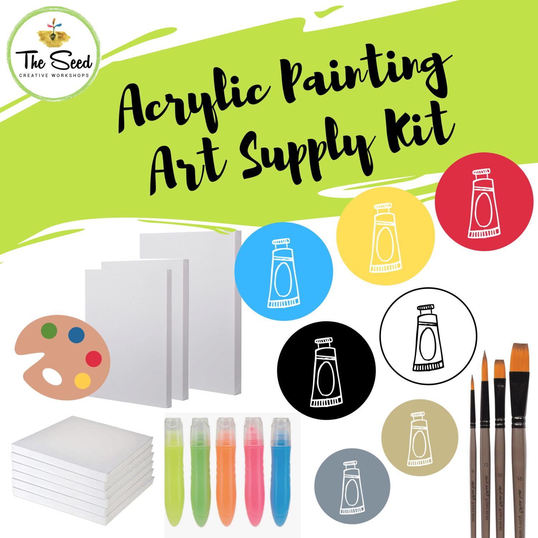 Acrylic painting Art Supply Kit