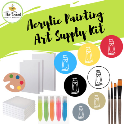 Acrylic painting Art Supply Kit