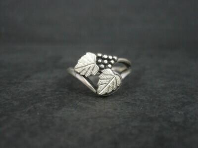 Vintage Black Hills Silver Ring Size 6.25