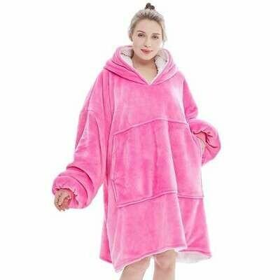 Blanket Hoodie Pink