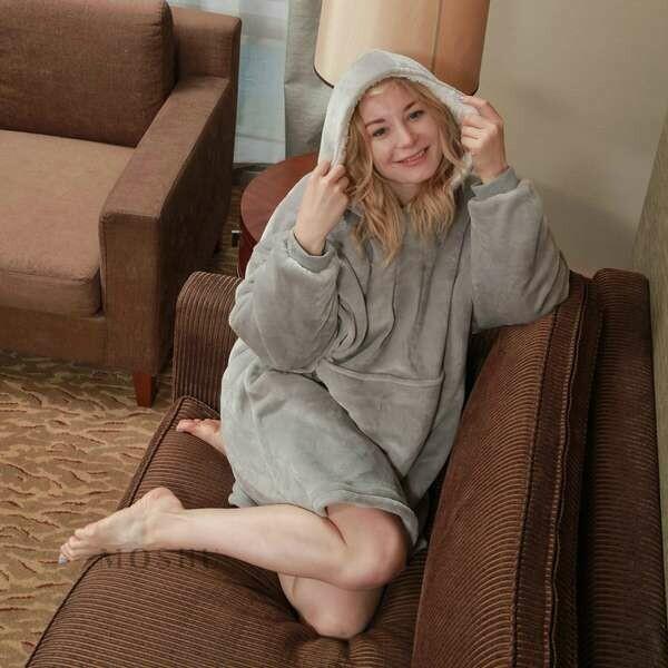 Sold Out: Blanket Hoodie Grey: Pre orders Only
