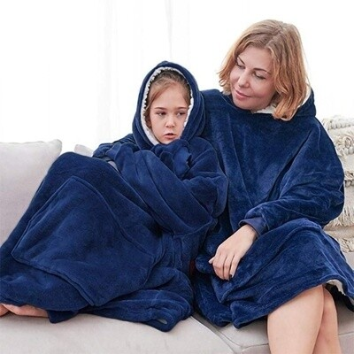 SOLD OUT: Blanket Hoodie Blue: Pre Orders Only