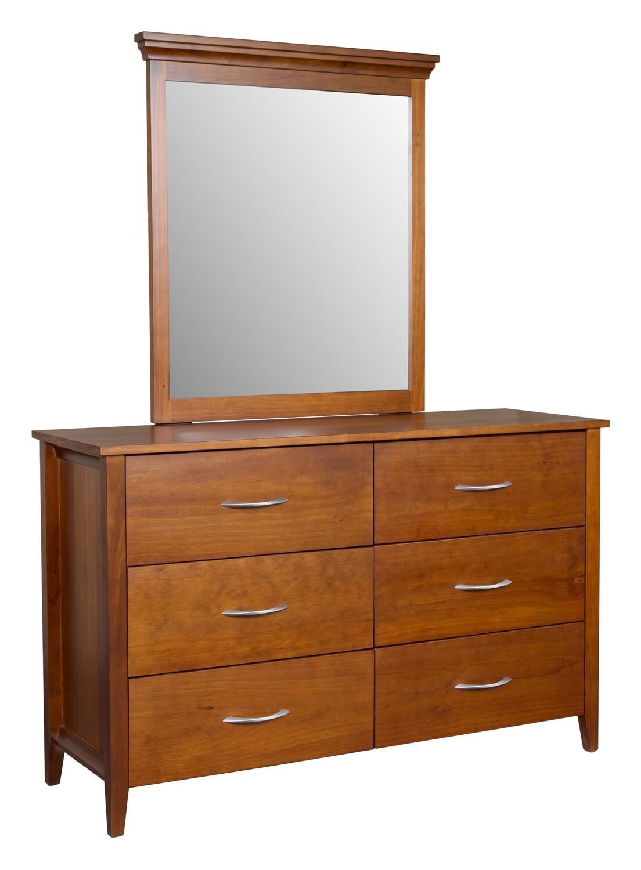 Hilton 6 Drawer Dresser & Mirror