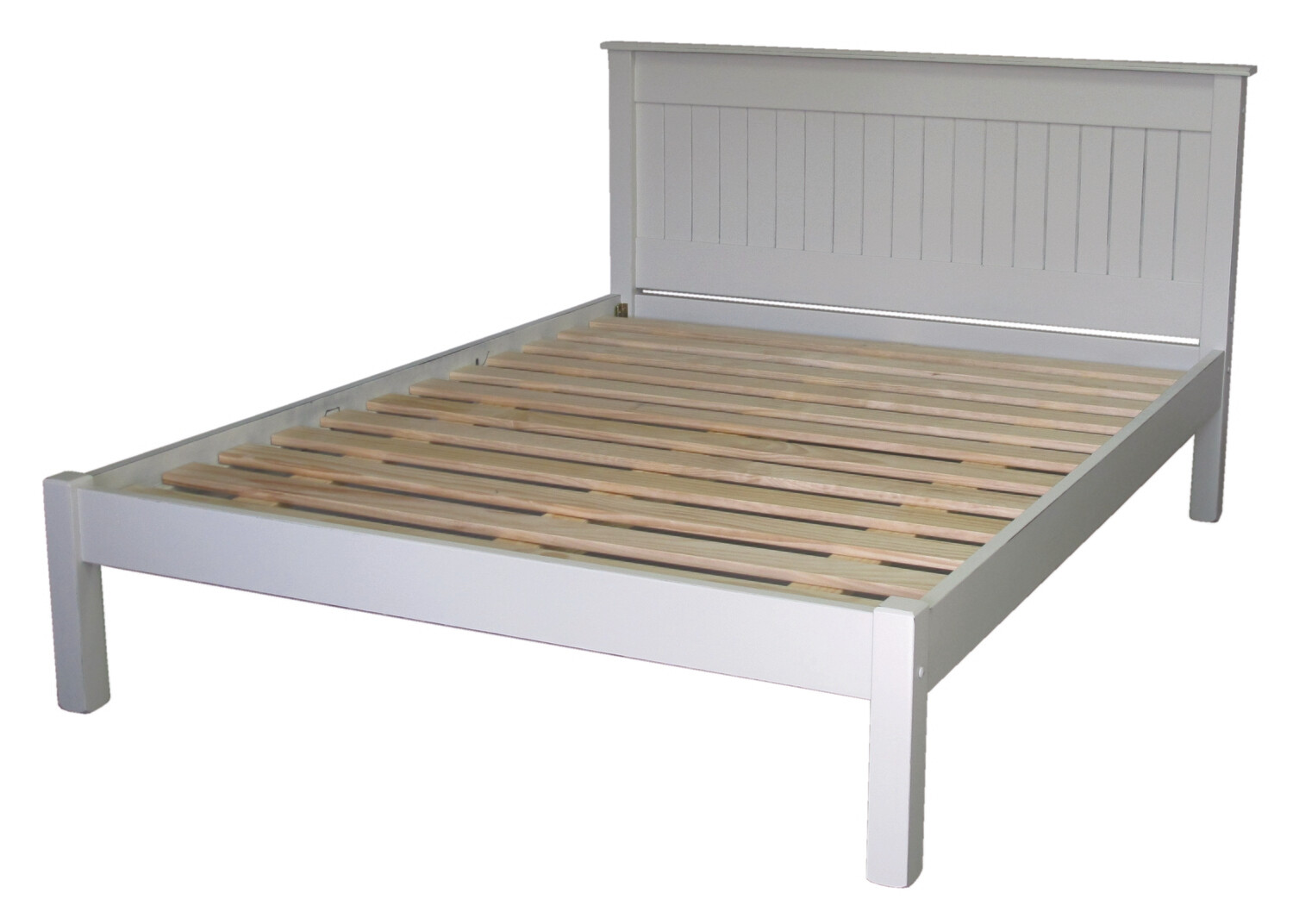 Andorra Slatframe Bed- Low Foot