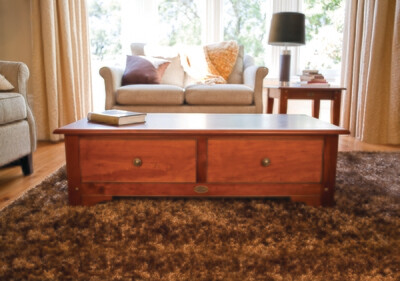 VILLAGER Coffee Table With 2 Drawers