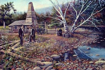 Fred Carrow Print - Drake's Well
