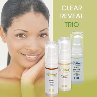 Clear Reveal Trio