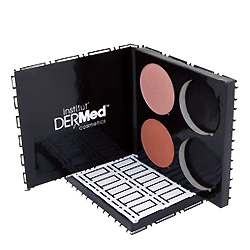 4-Well Refillable Face Palette for Foundation, Blush and Bronzer