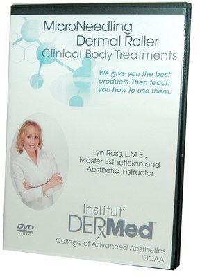 Institut Dermed Microneedling Roller Treatments DVD Training