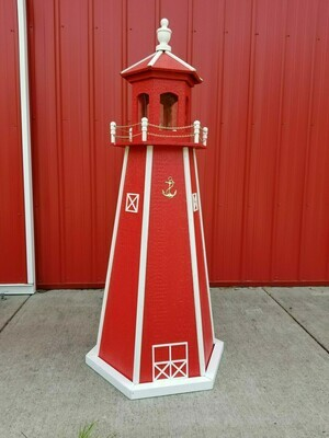 Finished Amish Crafted Lighthouse