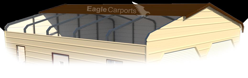 Regular Style Metal Garages