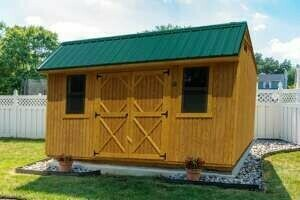 Cottage Shed by Gold Star Buildings