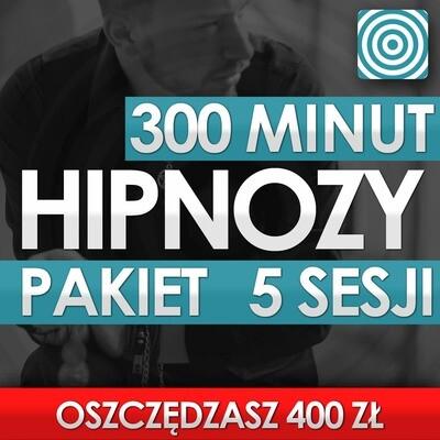 Pakiet 5 Sesji Hipnozy 300 Minut