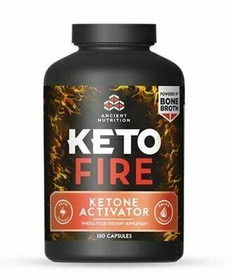 Keto Fire Ketone Activator - 180 Capsules