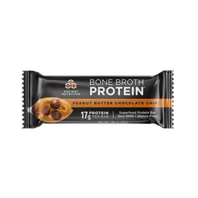 Bone Broth Protein Bar Peanut Butter Chocolate Chip