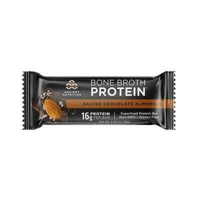 Bone Broth Protein Bar Salted Chocolate Almond