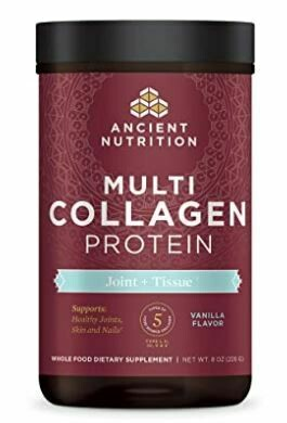 Multi Collagen Protein Powder Joint & Tissue Vanilla - 8 oz