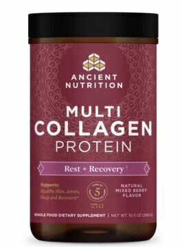 Multi Collagen Protein Powder Rest & Recovery Mixed Berry - 10.5 oz