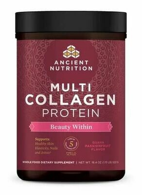 Multi Collagen Protein - Beauty Within - Guava Passionfruit 24serv