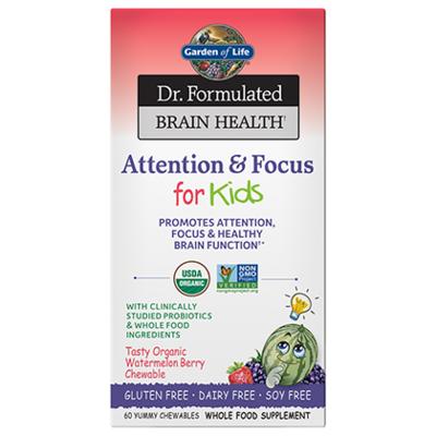 Dr Formulated Attention & Focus Kids - 60 Chewables