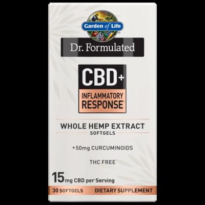 Dr Formulated CBD+ Inflammatory Response - 30 Softgels