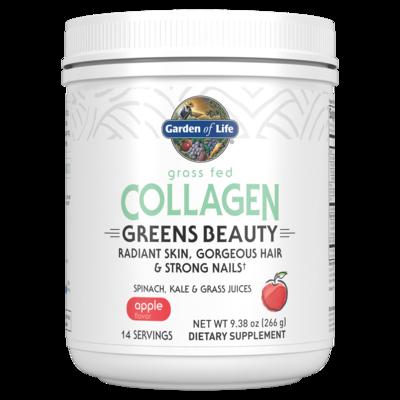 Collagen Greens Beauty Powder Apple - 266 g