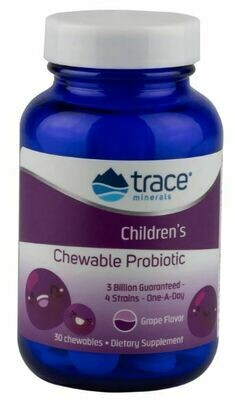 Children's Chewable Probiotic - 30 Chewables