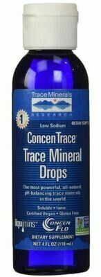 ConcenTrace® Trace Mineral Drops - 4oz