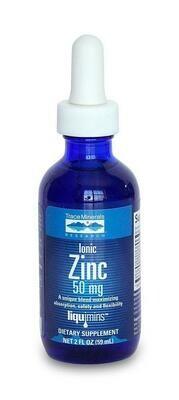 Ionic Zinc 50 mg - 2 oz
