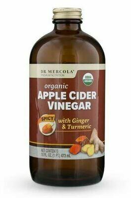 Apple Cider Vinegar Spicy - 16 oz