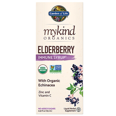 mykind Organics Elderberry Immune Syrup - 6.59 oz