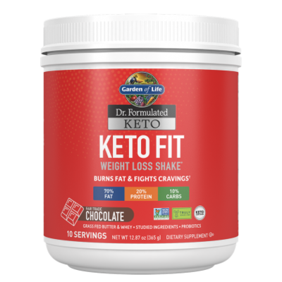 Keto Fit Weight Loss Shake Chocolate - 365 g
