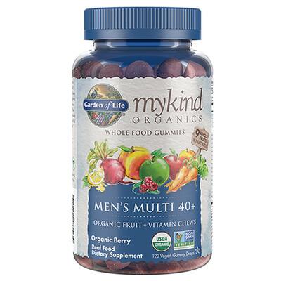 mykind Organics Men's 40+ Multi - 120 Gummies