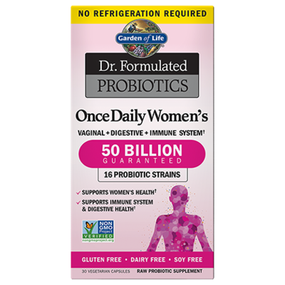 Dr Formulated Probiotics Once Daily Women's 50 Billion CFU - 30 Capsules