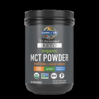 Dr Formulated Keto Organic MCT Powder - 10.58 oz