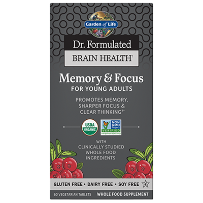 Dr Formulated Memory & Focus for Young Adults - 60 Tablets