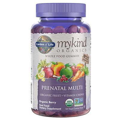 mykind Organics Prenatal  Multi Gummies - 120 Gummies
