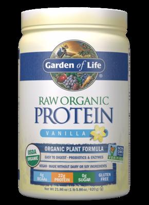 Raw Organic Protein Powder Vanilla - 21.86 oz