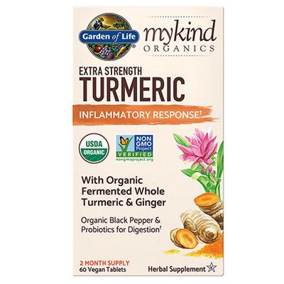 mykind Organics Extra Strength Turmeric Inflammatory Response - 60 Tablets