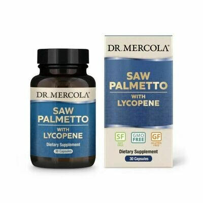 Saw Palmetto with Lycopene - 30 Capsules