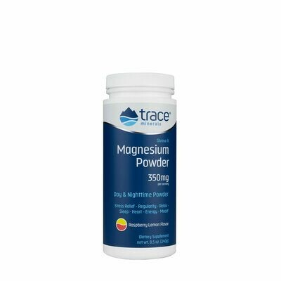 Stress-X Magnesium Powder Raspberry Lemon - 8.5 oz