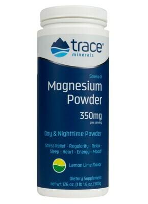 Stress-X Magnesium Powder Lemon Lime - 17.9 oz