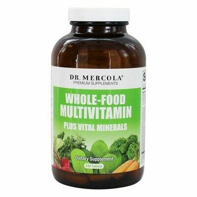 Whole-Food Multivitamin Plus Vital Minerals - 240 Tablets