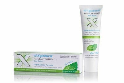 XyloBurst Natural Toothpaste with Xylitol Cool Mint - 4 oz.