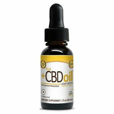CBD Gold Drops Unflavored - 1 oz