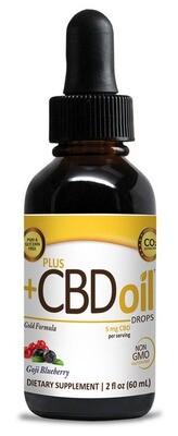 CBD Gold Extra Strength Drops Goji Blueberry - 2 oz
