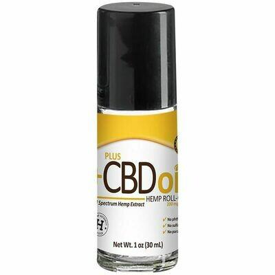 CBD Gold Formula Roll On Extra Strength - 1 oz