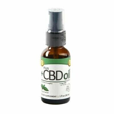 CBD Total Plant Complex Peppermint - 1 oz