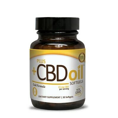 CBD Gold Formula - 30 Softgels