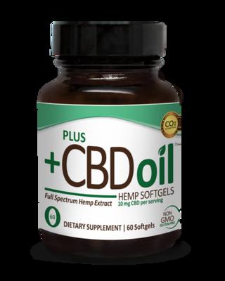 CBD Total Plant Complex - 60 Softgels
